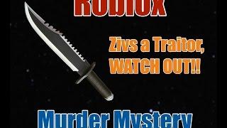ZIVS A TRAITOR! - Roblox Murder Mystery