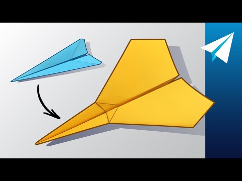 Make Your Paper Airplane Better — 4 Best Ways to Improve the Classic Dart — Folding Tutorial