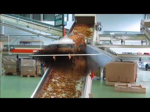 Tobacco processing line