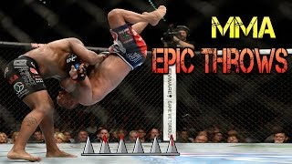 Epic Throws and Slams in MMA 2017 - Great Compilation