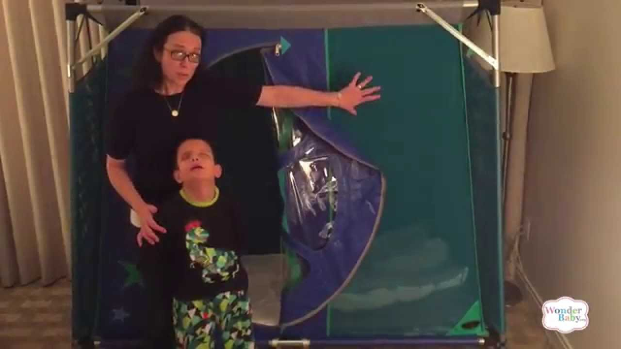 Travel Pod Special Needs Bed Youtube