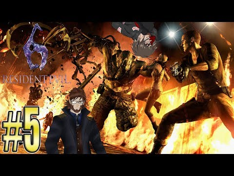 Re.Let's Play Together Resident Evil 6 [German] feat. Hol83 #5 - Verfolgungswahn!