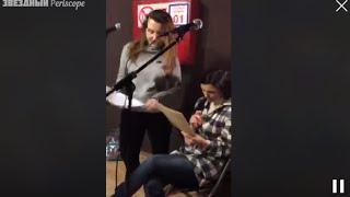 Юлианна Караулова на репетиции - Хьюстон | Periscope