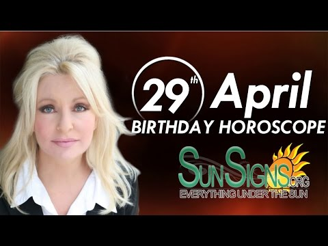 Birthday April 29th Horoscope Personality Zodiac Sign Taurus Astrology