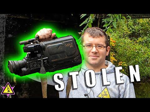 Stolen Gear Found Magnet Fishing