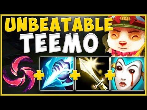 100% BROKEN TEEMO JUNGLE THAT'S STOMPING CHALLENGER GAMES! TEEMO JG SEASON 10! - League Of Legends