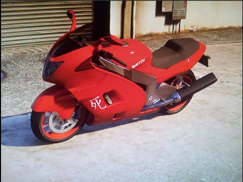 GTA 5 RARE Bikes - Shitzu Hakuchou (Fastest Bike) Location - PS4