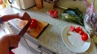 Как приготовить самый простой салат?