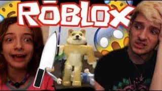 MY LITTLE SISTER GETS MURDERED IN ROBLOX! (reupload)