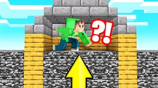 Download Minecraft But BEDROCK RISES Every MINUTE! (Intense) Mp3 and Videos