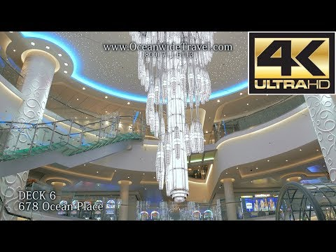 Norwegian Getaway FULLY GUIDED SHIP TOUR (4K Ultra HD)