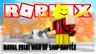 Omg this is best war ship ever! ( Roblox Naval 1980 )
