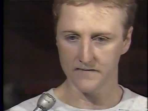 Larry Bird (Age 31) One On One Interview With Chick Hearn (1987-88 Season)