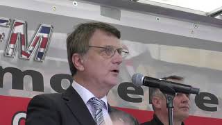 Gerard Batten speech 23 June 2018 - Stop The Brexit Betrayal