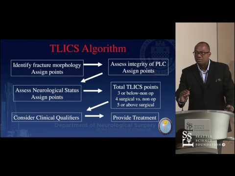Management of Thoracolumbar Spine Trauma & Stabilization by Kojo Hamilton, MD