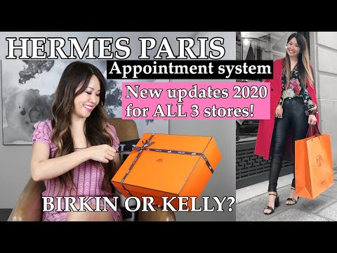 Hermes Bag Unboxing | UPDATED: HOW TO GET A BIRKIN Or KELLY In PARIS 2020 *system At All 3 Stores*