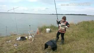 Ловля карася на озере Сугояк 2,часть 2 (утро)