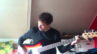 Tom Petty And The HeartBreakers - You Wreck Me Bass Cover By Tim hahury