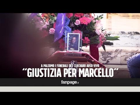 Senzatetto bruciato vivo a Palermo, musica neomelodica e rabbia ai funerali di Marcello