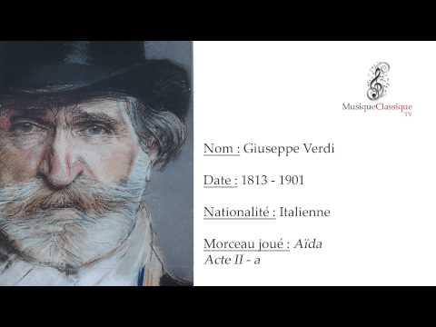 ♬ AIDA, ACTE II - A ♬ | GIUSEPPE VERDI | MUSIQUE CLASSIQUE TV ♬