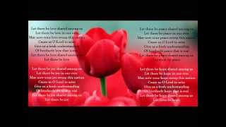 Let There Be Love Shared Among Us Worship Hymn