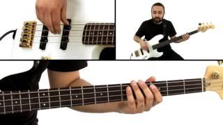 Bass Guitar Grooves - #11 Bossa Nova - Teymur Phell