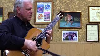 Гитарист-виртуоз Алексей Сенин в музыкальной гостиной Игоря Куринного