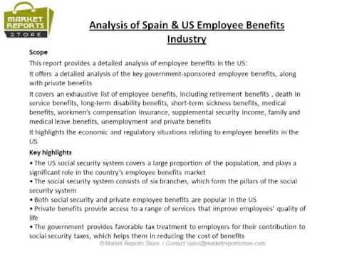 Spain & US Employee Benefits Market Growth Prospects