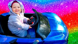 We are in the Car   Wheels On The Bus Song   Nursery Rhymes & Kids Songs by Olivia Kids Tube