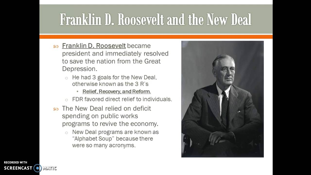 The Great Depression and New Deal 1929-1940 - YouTube