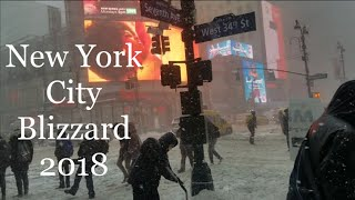 New York City Blizzard Bomb Cyclone Shoe Shopping Riding The Subway VickyJ