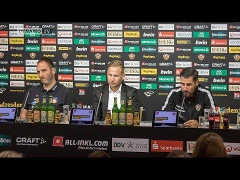 3. Spieltag | SGD - FCH | Pressekonferenz nach dem Spiel