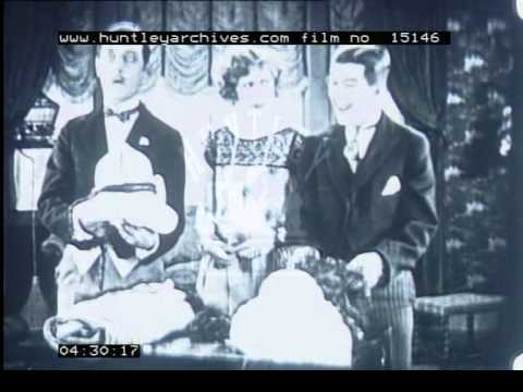 Comedy about woman with two suitors, 1920's - Film 15146