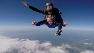 88-Year-Old Grandma Checks Skydiving Off Bucket List