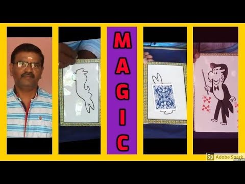 ONLINE TAMIL MAGIC I ONLINE MAGIC TRICKS TAMIL #498 I RABBIT TO MAGICIAN