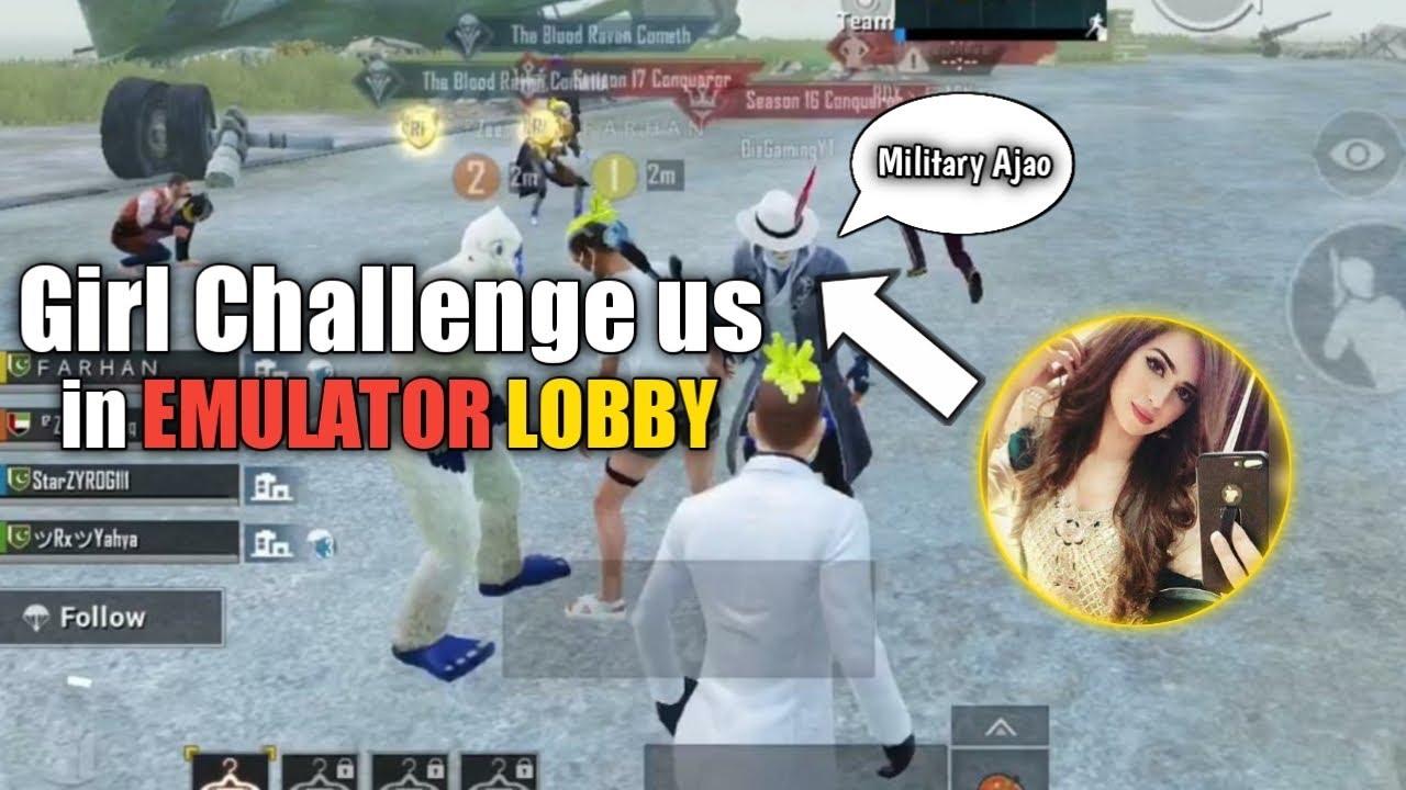 Download They Challenge us in EMULATOR LOBBY • ZyroJayyy • PUBG • Zj111 • StarEsport • Pakistan 🇵🇰