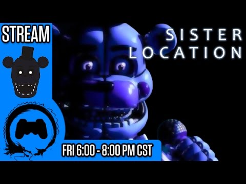 Five Nights at Freddy's SISTER LOCATION - Freaky Friday - TFS Gaming