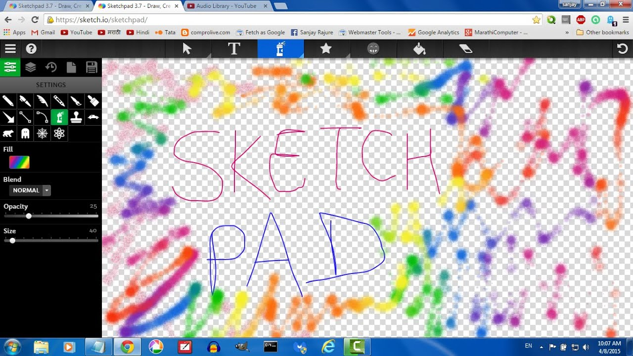 Sketchpad 3 7 By Youtube