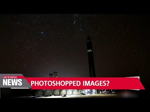 North Korea's Hwasong-15 photos have been tampered with: expert