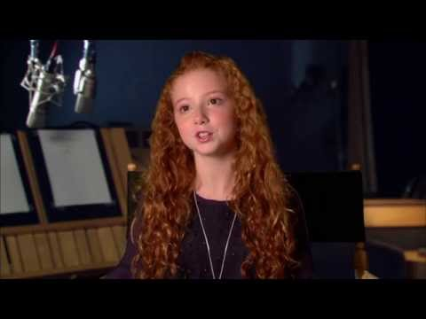 "The Peanuts Movie ""The Little Red-Haired Girl"" Official Interview - Francesca Angelucci Capaldi"