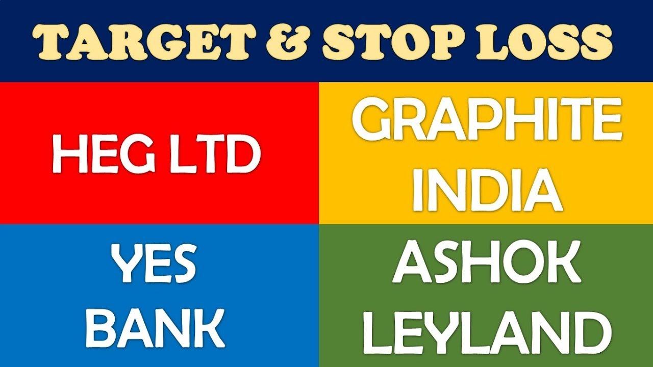 Heg Ltd Graphite India Yes Bank Ashok Leyland share price target & stop loss | long term multiba