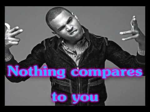 ***Sweetheart (Lyrics on Screen, NO PITCH CHANGE)- Chris Brown***
