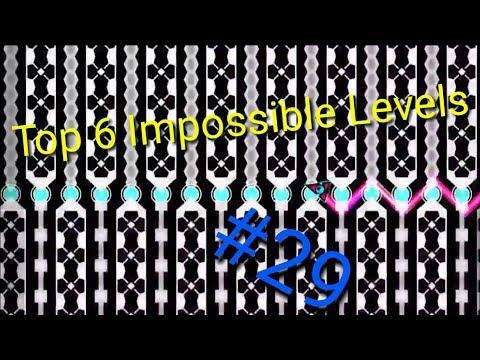 Top 6 Impossible Levels In Geometry Dash #29 (Read Description)