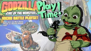 Godzilla Micro Battle Playsets - MIB Play Time Ep 6
