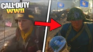 """HOW TO Get *NEW* Secret """"GLOBE BALL"""" in HEADQUARTERS in COD WWII! 😱 (SICK EASTER EGG TUTORIAL!)"""