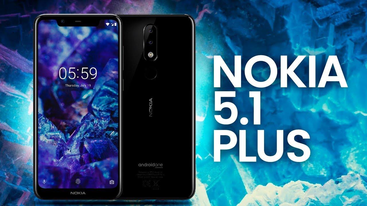 Resultado de imagen para Nokia 5.1 Plus