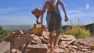 Art of Rock Balancing (awesome)  -  7 second FUNNY VIDEO BEST