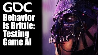 Behavior is Brittle: Testing Game AI
