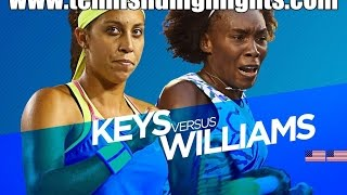 Venus Williams vs Madison Keys Highlights HD 1/4 Australian Open 2015