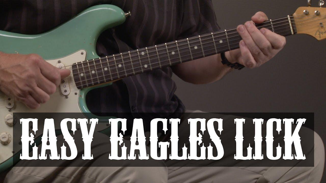 Easy Eagles Guitar Lesson
